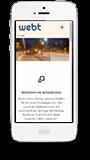 WEBT für iPhone