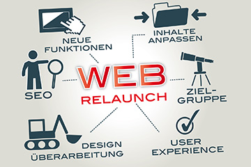 Web-Redesign und Web-Relaunch